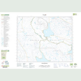 Canadian Topo Map - Map 048A02