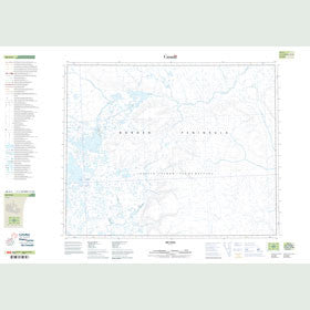 Canadian Topo Map - Map 048A04