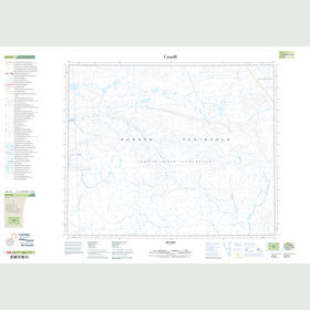 Canadian Topo Map - Map 048A05