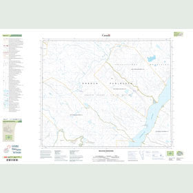 Canadian Topo Map - Bellevue Mountain - Map 048A07