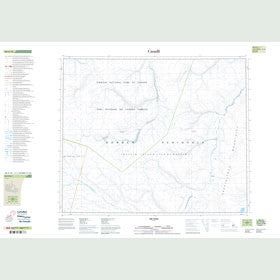 Canadian Topo Map - Map 048A10