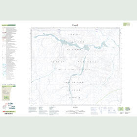 Canadian Topo Map - Map 048A15