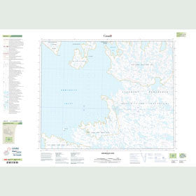 Canadian Topo Map - Umiartalik Cove - Map 048B02