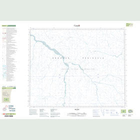Canadian Topo Map - Map 048B04