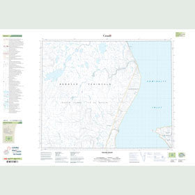 Canadian Topo Map - Yellow Valley - Map 048B06