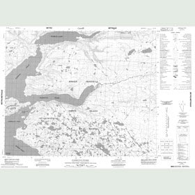 Canadian Topo Map - Fabricius Fiord - Map 048B08