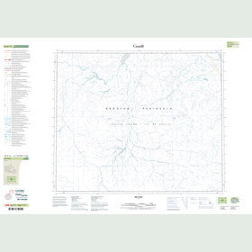 Canadian Topo Map - Map 048B12