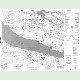 Canadian Topo Map - Silt Point - Map 048C01
