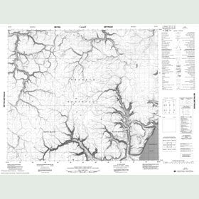 Canadian Topo Map - Map 048C06