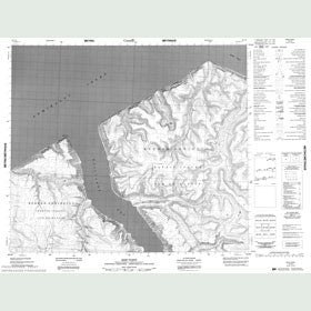 Canadian Topo Map - Ship Point - Map 048C08
