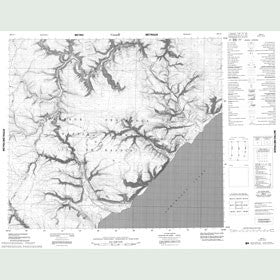 Canadian Topo Map - Map 048C10