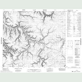 Canadian Topo Map - Map 048C11