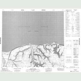 Canadian Topo Map - Sargent Point - Map 048C14