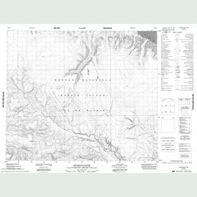 Canadian Topo Map - Ikkarlak Glacier - Map 048D02