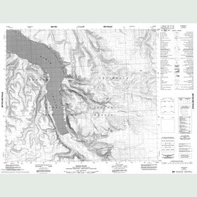 Canadian Topo Map - Elwin Inlet - Map 048D05