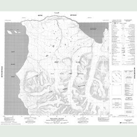Canadian Topo Map - Wollaston Islands - Map 048D09