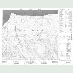 Canadian Topo Map - Cape Charles Yorke - Map 048D11