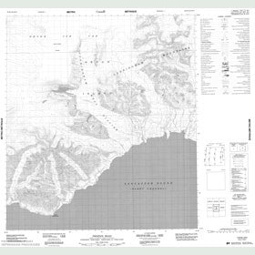 Canadian Topo Map - Phoenix Head - Map 048E10