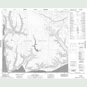 Canadian Topo Map - Cape Bullen - Map 048F09
