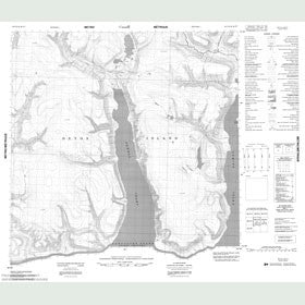 Canadian Topo Map - Map 048F10