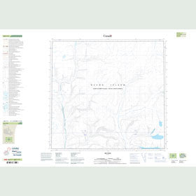 Canadian Topo Map - Map 048F13