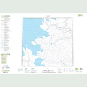 Canadian Topo Map - Map 048F16