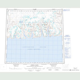 Canadian Topo Map - Powell Inlet - Map 048F