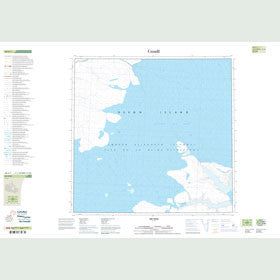 Canadian Topo Map - Map 048G01