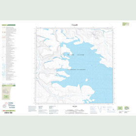 Canadian Topo Map - Map 048G02