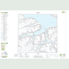 Canadian Topo Map - Map 048G06