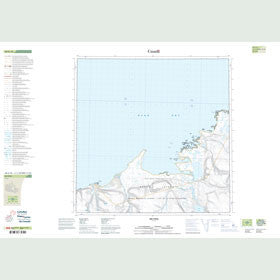 Canadian Topo Map - Map 048G10