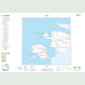 Canadian Topo Map - Map 048H01