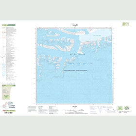 Canadian Topo Map - Map 048H08