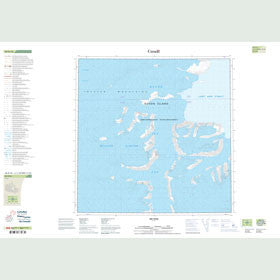 Canadian Topo Map - Map 048H10