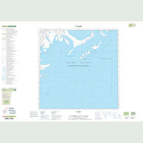 Canadian Topo Map - Map 048H11