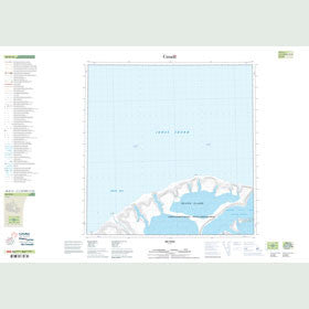 Canadian Topo Map - Map 048H14