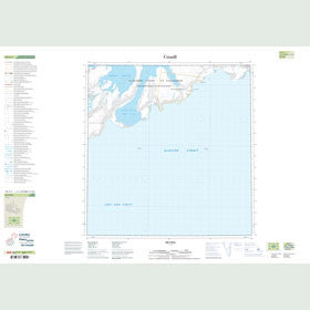 Canadian Topo Map - Map 049A01