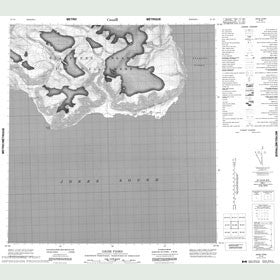 Canadian Topo Map - Grise Fiord - Map 049A06