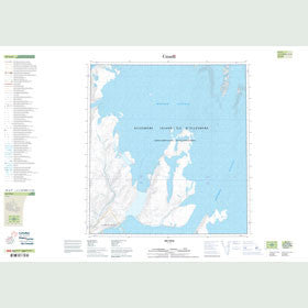Canadian Topo Map - Map 049A09