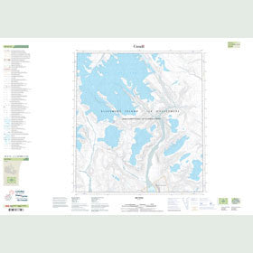 Canadian Topo Map - Map 049A13