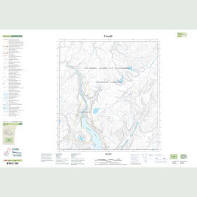 Canadian Topo Map - Map 049A14