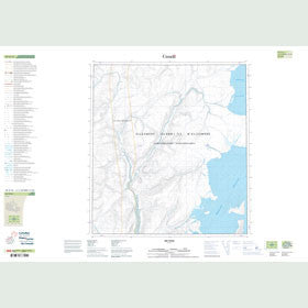 Canadian Topo Map - Map 049A15