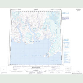 Canadian Topo Map - Craig Harbour - Map 049A