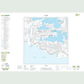 Canadian Topo Map - Map 049B07