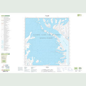Canadian Topo Map - Map 049B10
