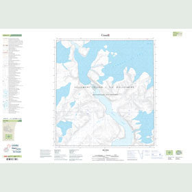 Canadian Topo Map - Map 049B11