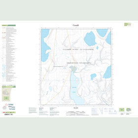 Canadian Topo Map - Muskox Fiord - Map 049B12