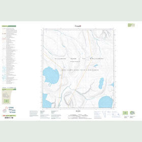 Canadian Topo Map - Map 049B13