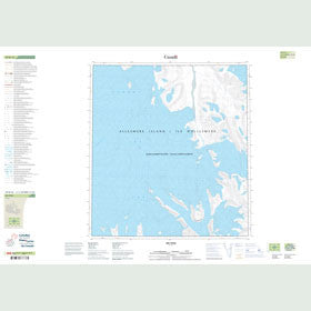 Canadian Topo Map - Map 049B16