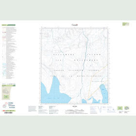 Canadian Topo Map - Map 049C02